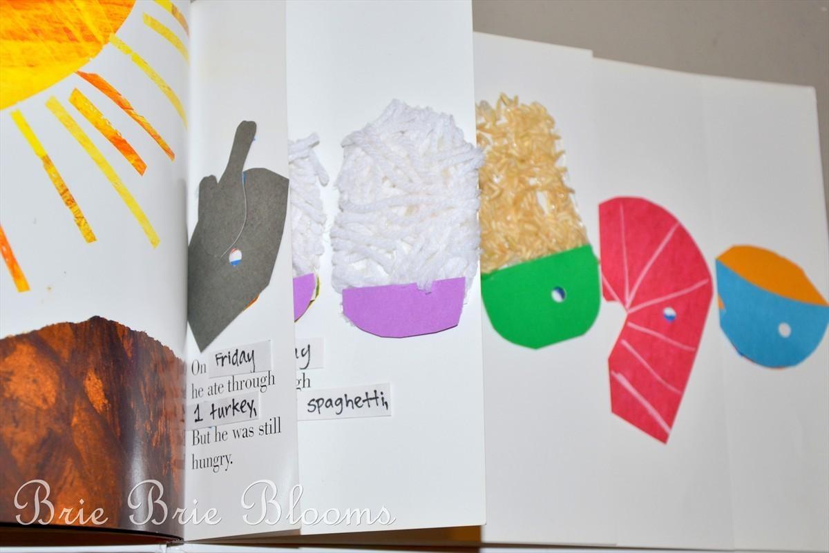 Classroom Fun: The Very Hungry Caterpillar {Wall Display, Book Inside The Very Hungry Caterpillar Wall Art (Image 7 of 20)
