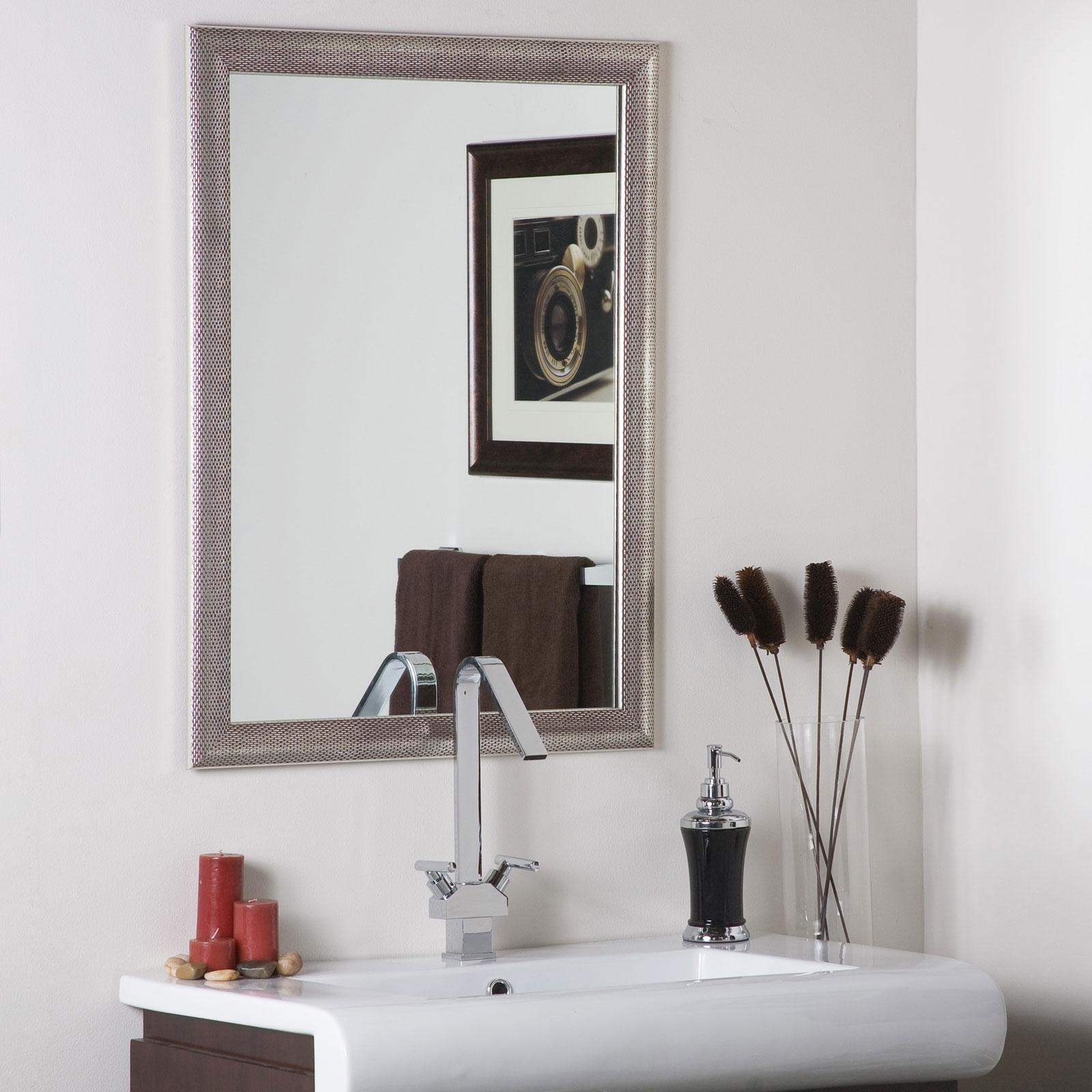 Classy Warm Silver Wall Art For Bathroom — Home Design Stylinghome Throughout Classy Wall Art (Image 8 of 20)