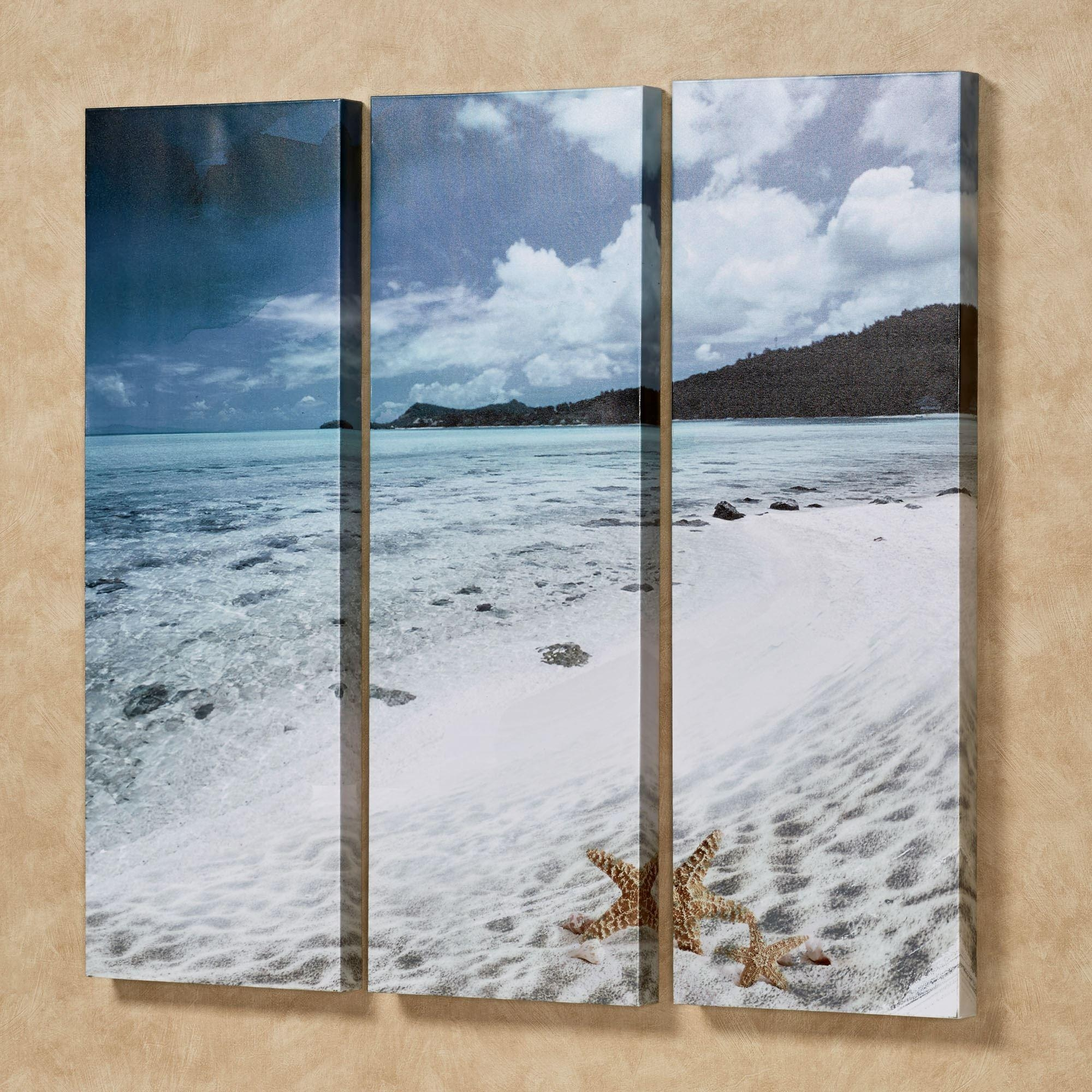 Coastal And Tropical Canvas Wall Art | Touch Of Class In Coastal Wall Art (Image 2 of 20)