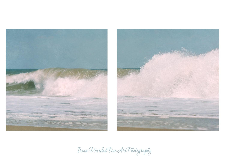 Coastal Prints | Surf Wall Art Decor | Ocean Photography Art Set Within Coastal Wall Art (Image 4 of 20)