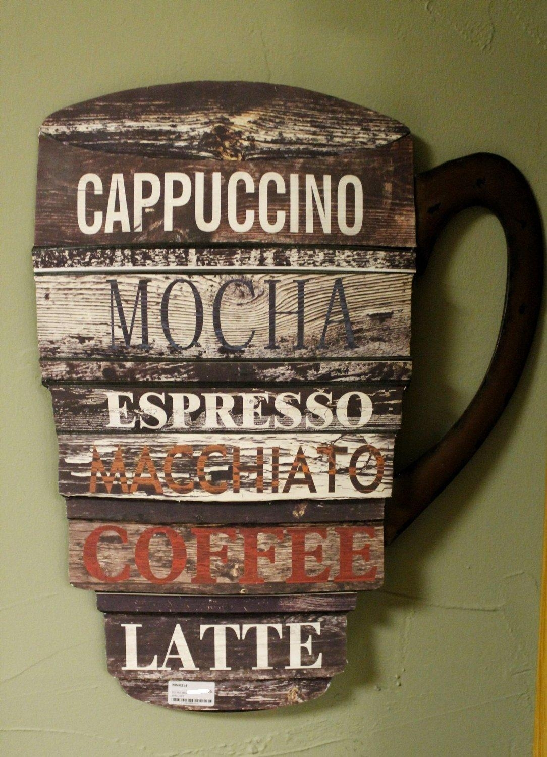 Coffe Cup Wall Art – Divine Interiors And Gifts Within Metal Coffee Cup Wall Art (Image 5 of 20)