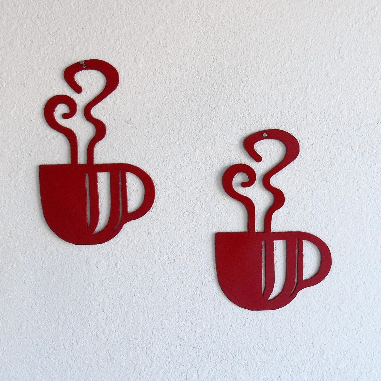 Coffee Decor – Just 4 The Art Of It Throughout Metal Coffee Cup Wall Art (Image 9 of 20)