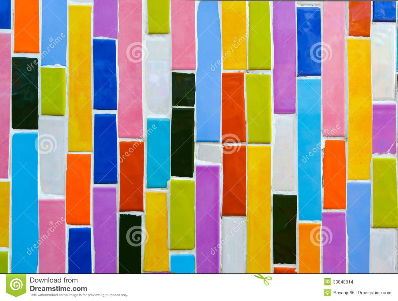 Colorful Glass Mosaic Art,abstract Wall Background (Image 9 of 20)