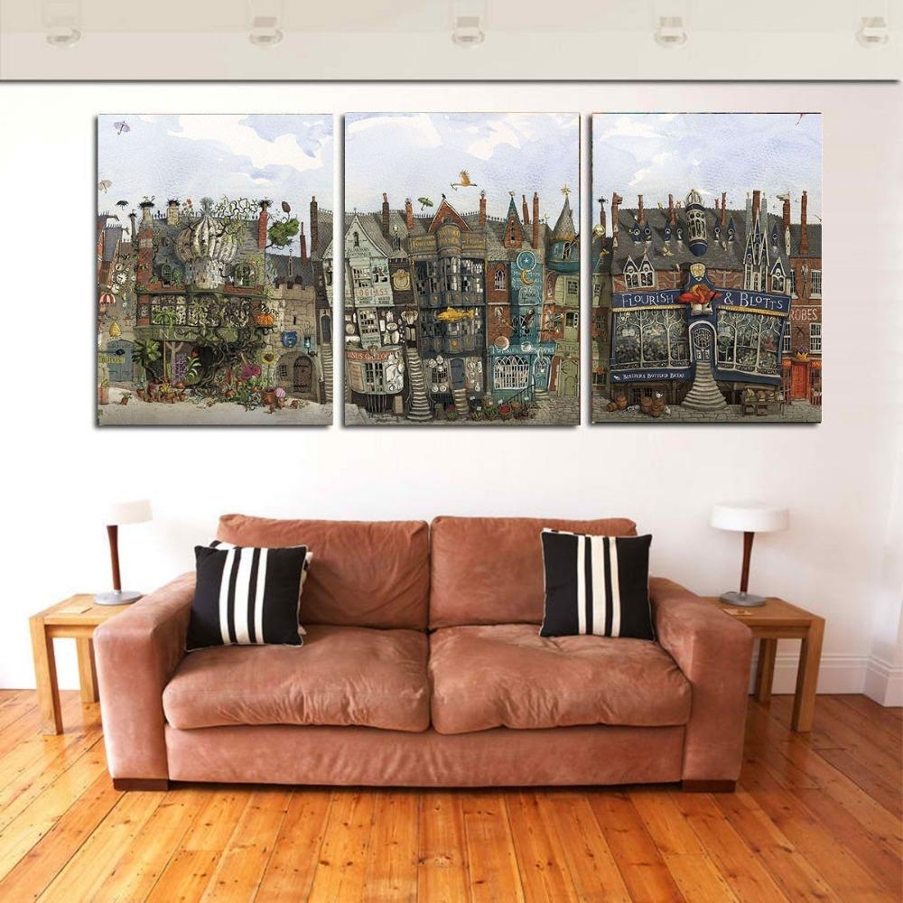 Compare Prices On Abstract Canvas 3 Pieces  Online Shopping/buy Pertaining To 3 Piece Abstract Wall Art (Image 10 of 20)