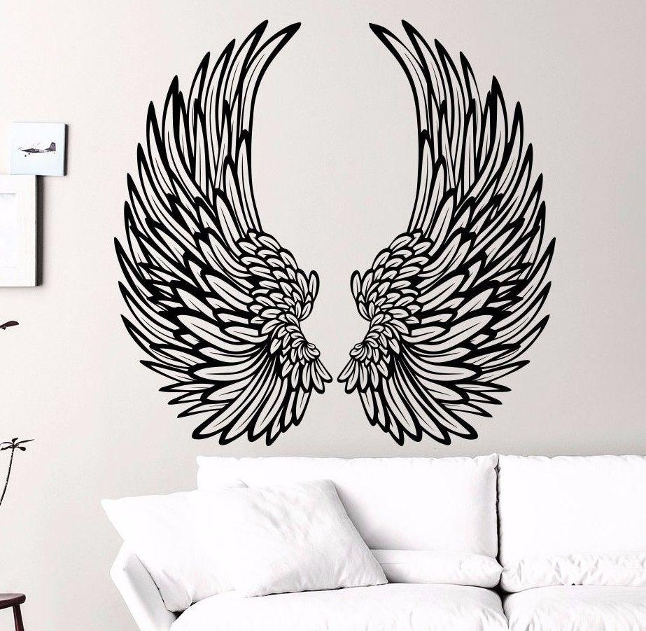 Compare Prices On Angel Wings Wall Decor Online Shopping/buy Low Inside Angel Wings Wall Art (View 12 of 20)