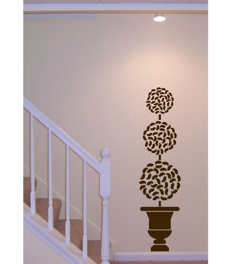 Compare Prices On Art Deco Wall Decals  Online Shopping/buy Low Within Topiary Wall Art (Image 7 of 20)