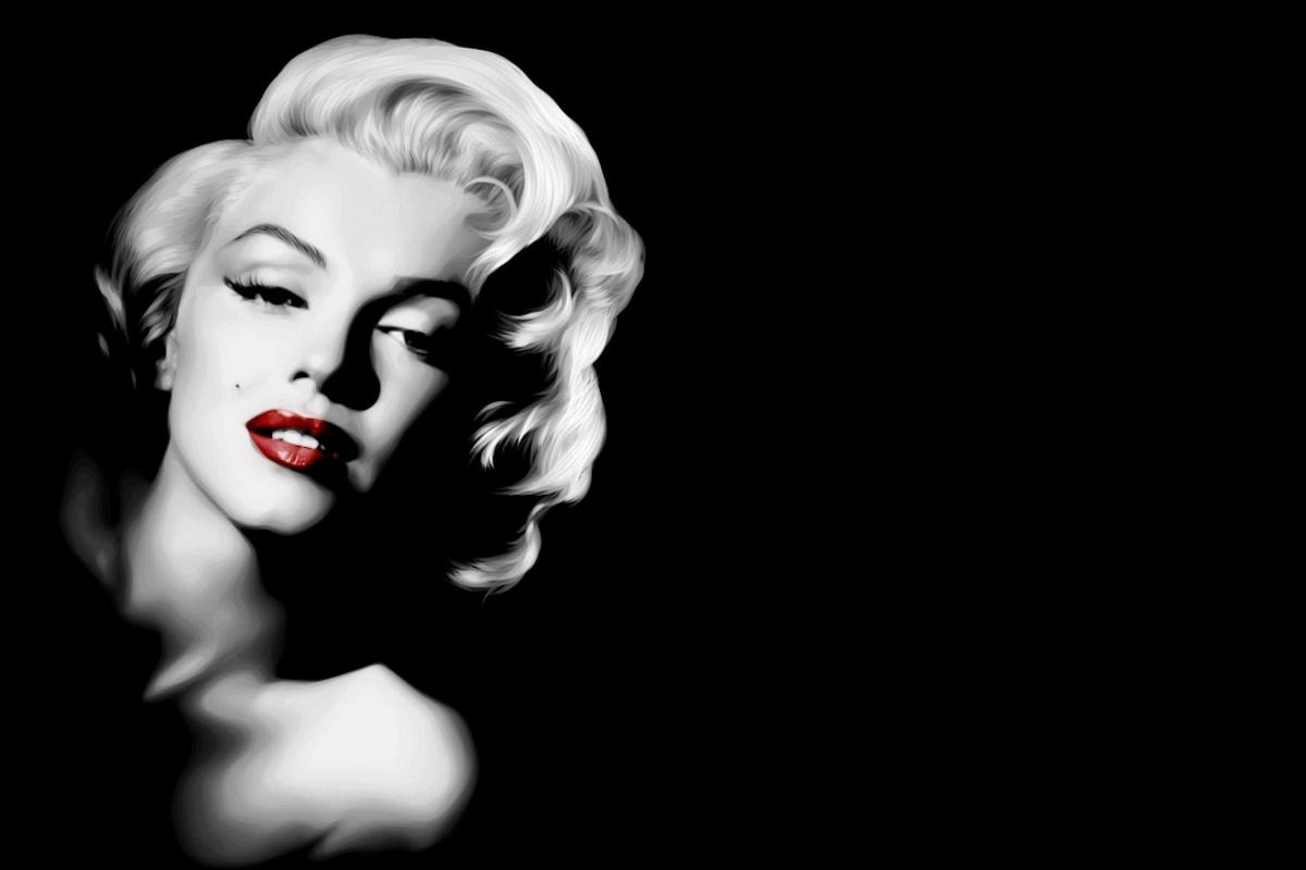 Compare Prices On Black And White Marilyn Monroe Canvas  Online Throughout Marilyn Monroe Black And White Wall Art (Image 8 of 20)