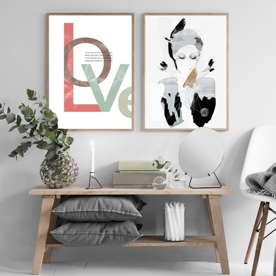 Compare Prices On Black Love Art Online Shopping/buy Low Price Inside Black Love Wall Art (View 17 of 20)