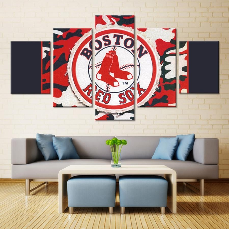 Compare Prices On Boston Art  Online Shopping/buy Low Price Boston Regarding Red Sox Wall Decals (Image 6 of 20)
