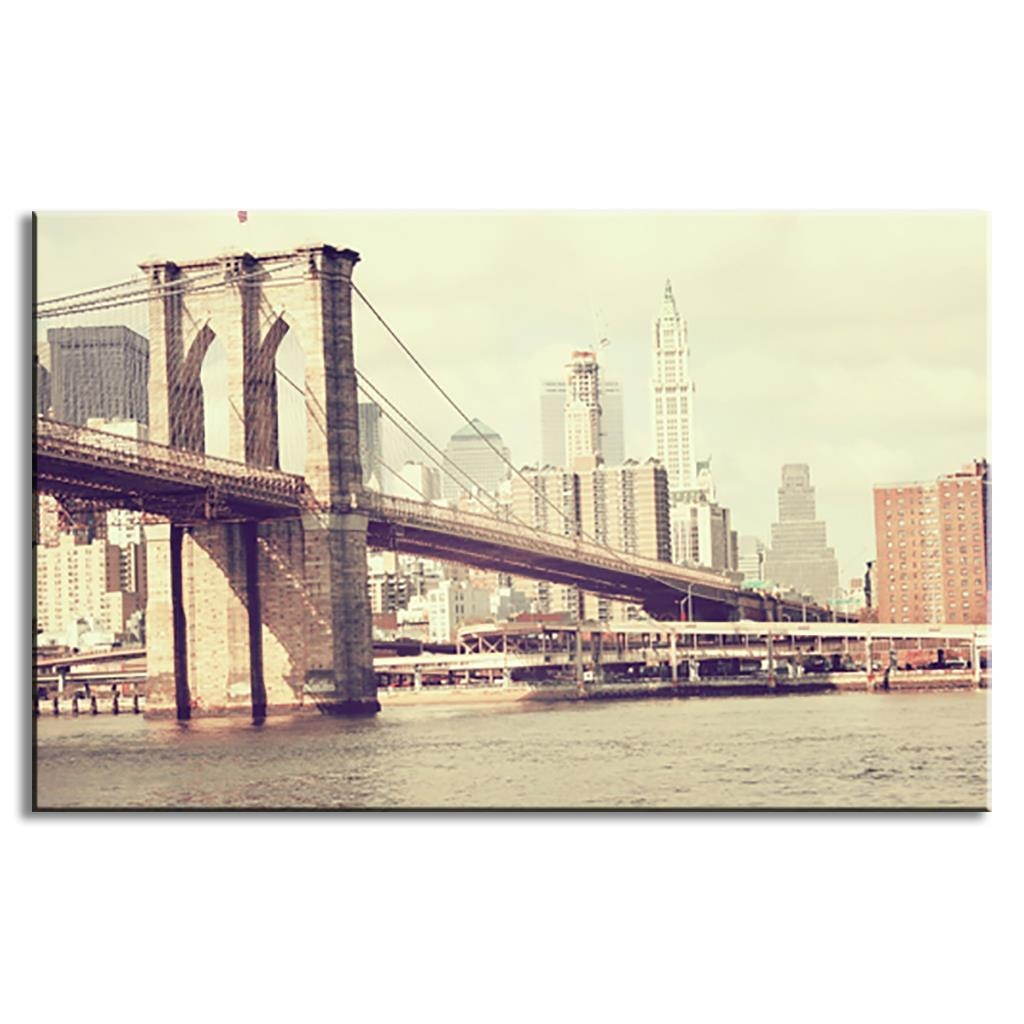 Compare Prices On Brooklyn Bridge Wall Art Bedroom Online Throughout Brooklyn Bridge Wall Decals (View 18 of 20)