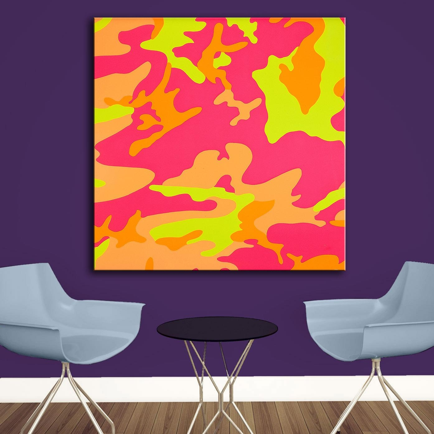 Compare Prices On Camouflage Wall Art Online Shopping/buy Low With Camouflage Wall Art (View 6 of 20)