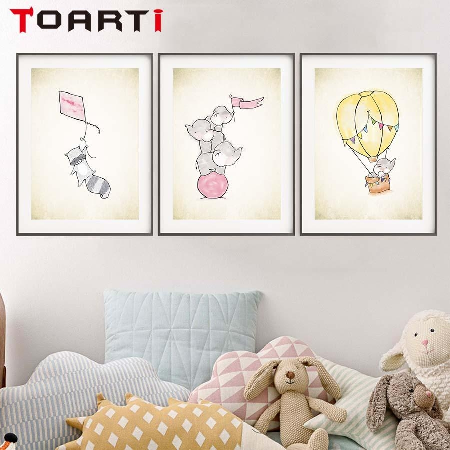Compare Prices On Canvas Childrens Wall Art  Online Shopping/buy With Regard To Childrens Wall Art Canvas (Image 9 of 20)