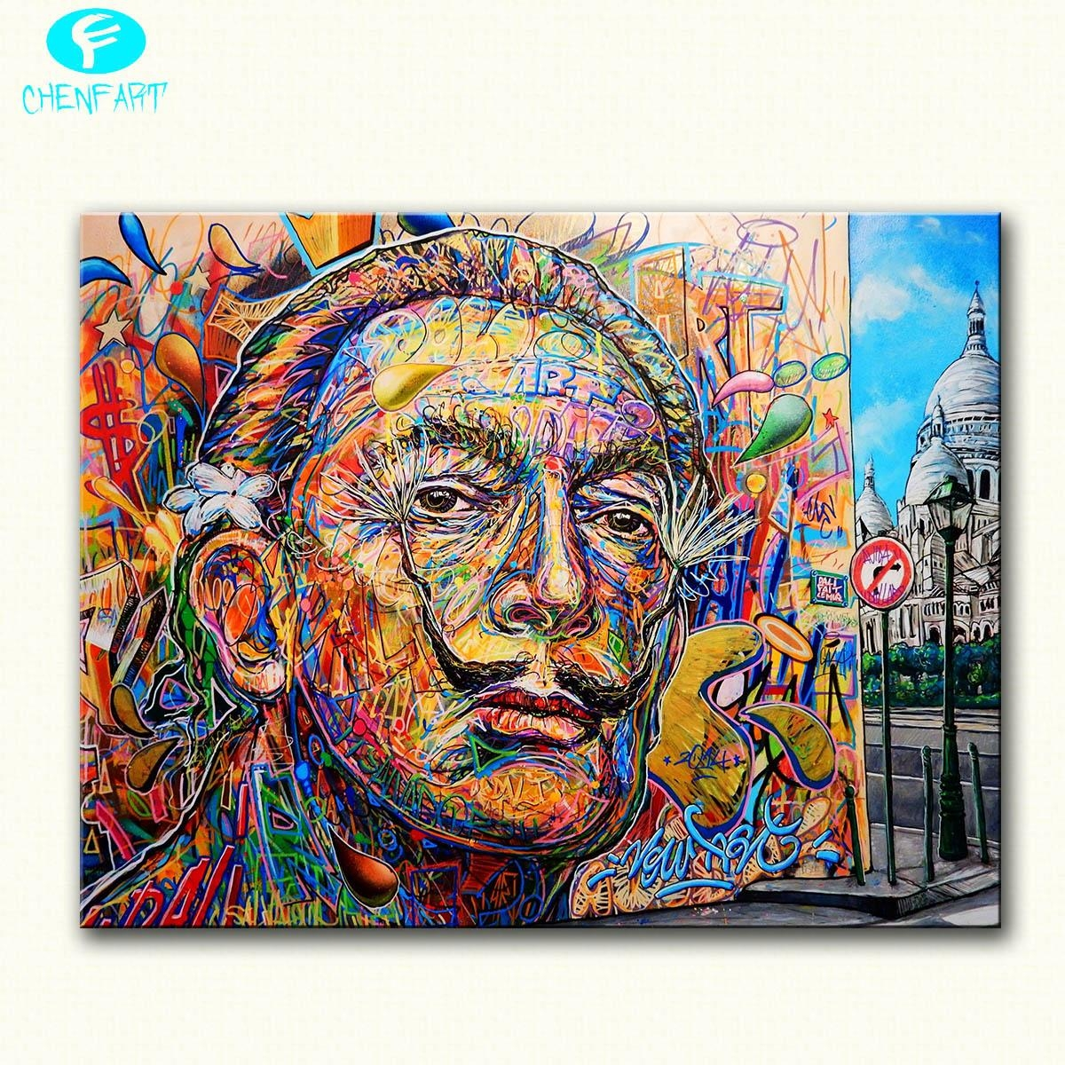 Compare Prices On Canvas Wall Art Salvador Dali Online Shopping With Regard To Salvador Dali Wall Art (View 20 of 20)