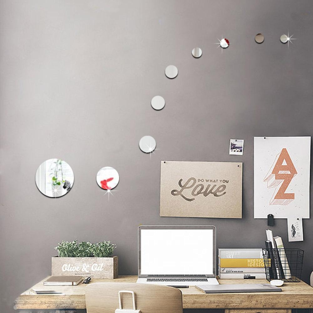 Compare Prices On Circle Wall Art Online Shopping/buy Low Price In Mirror Circles Wall Art (View 13 of 20)