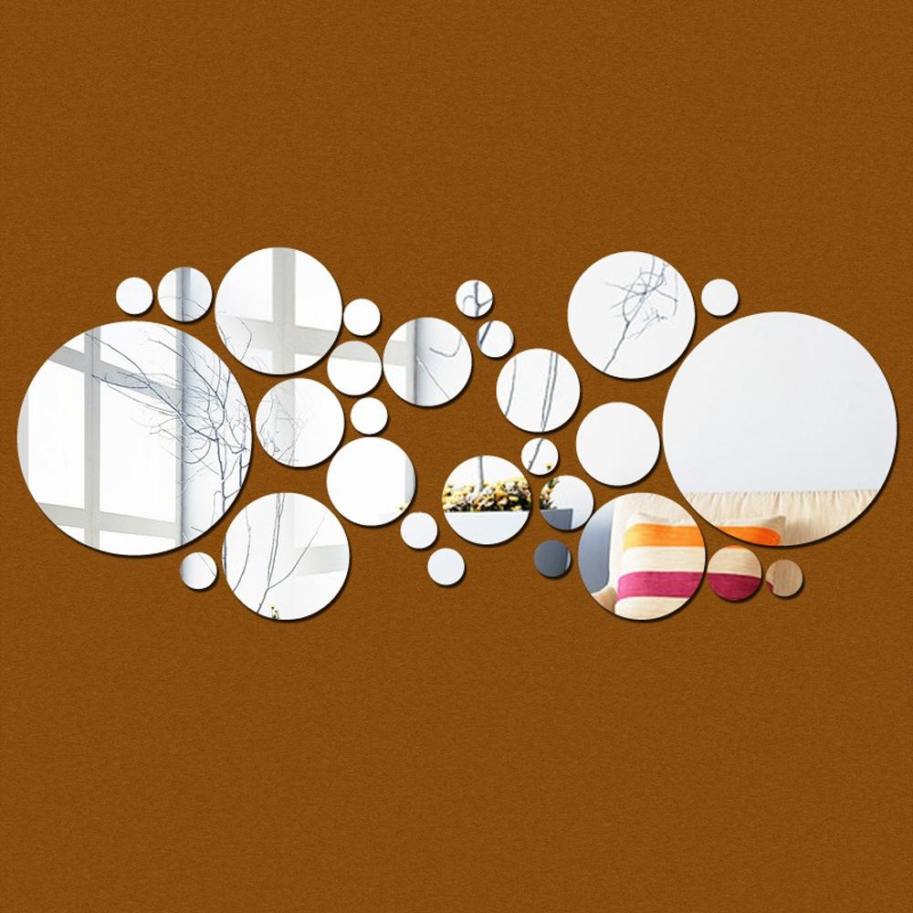 Compare Prices On Circle Wall Art  Online Shopping/buy Low Price With Regard To 3D Circle Wall Art (Image 10 of 20)