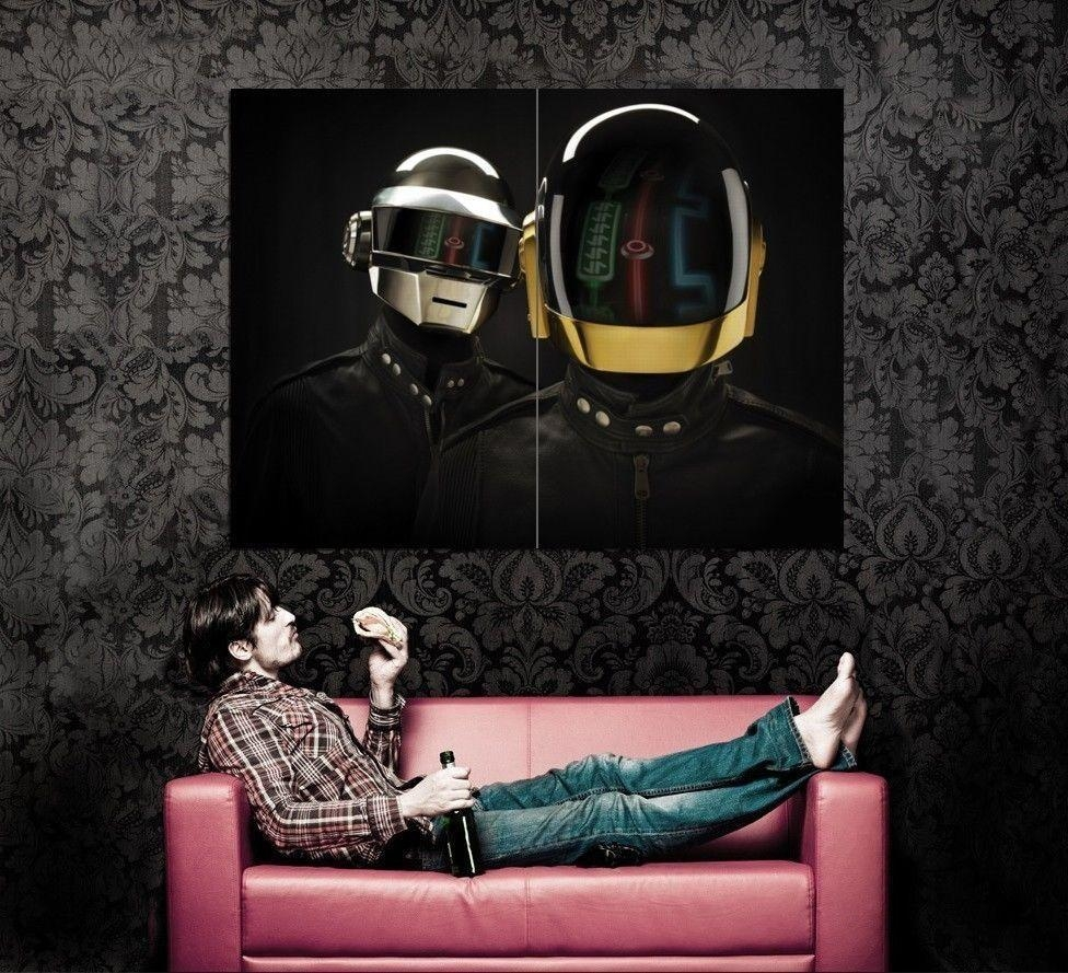 Compare Prices On Daft Punk Wall Art  Online Shopping/buy Low With Regard To Electronic Wall Art (Image 5 of 20)