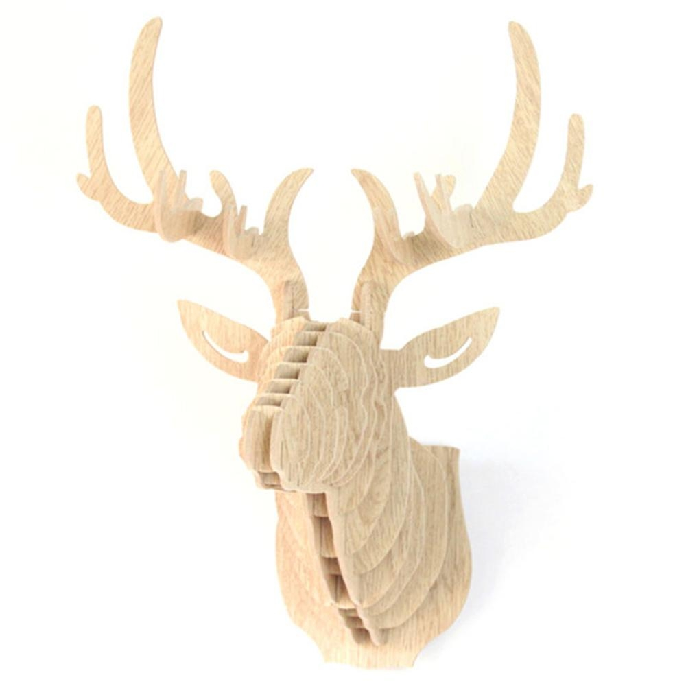 Compare Prices On Deer Head Wall  Online Shopping/buy Low Price For Stag Head Wall Art (Image 6 of 20)
