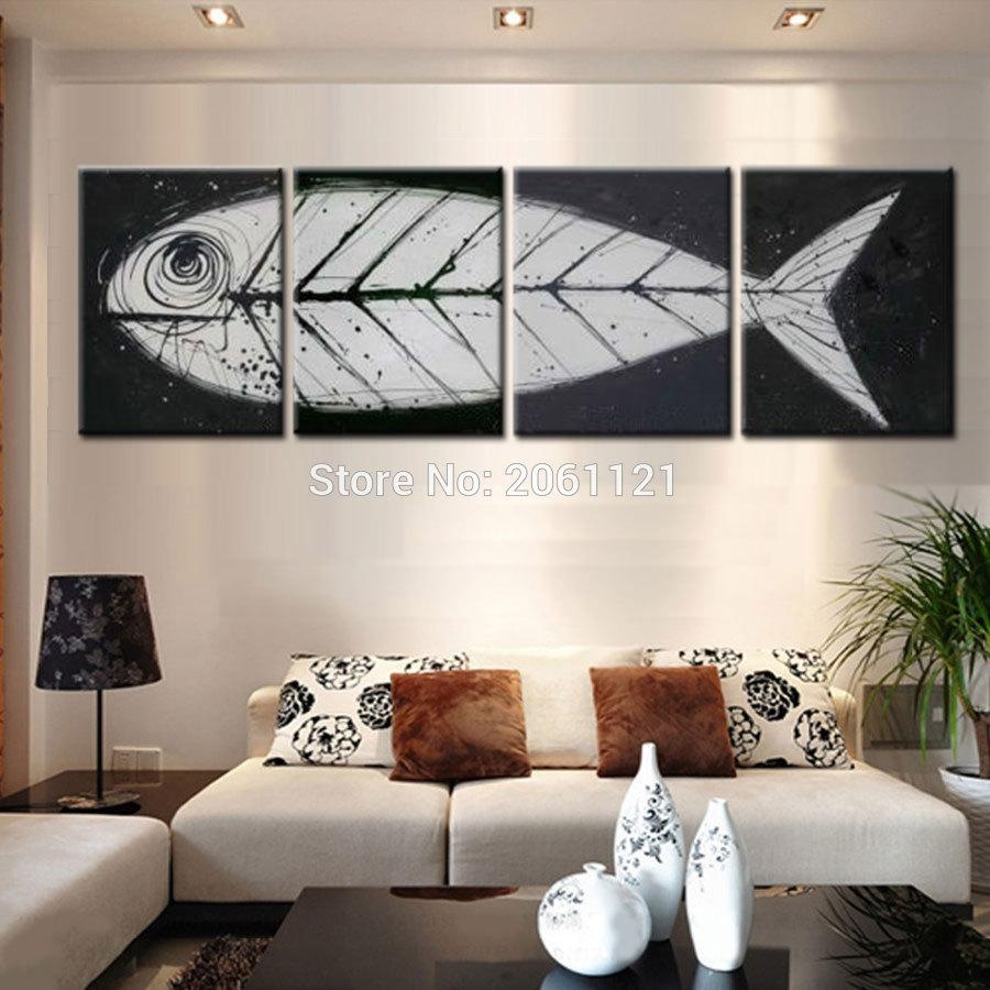 Compare Prices On Fish Bone Art Online Shopping/buy Low Price Pertaining To Fish Bone Wall Art (View 2 of 20)