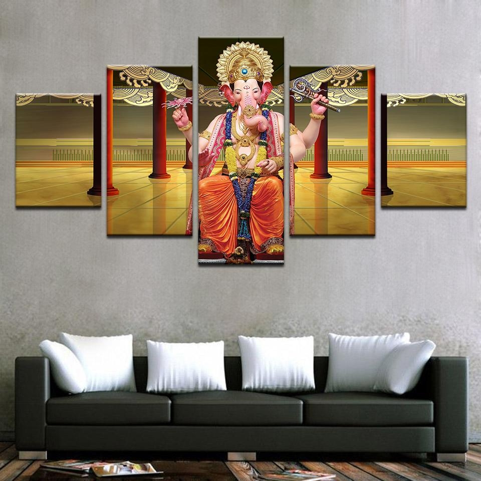 Compare Prices On Ganesh Wall Art Online Shopping/buy Low Price With Ganesh Wall Art (View 8 of 20)