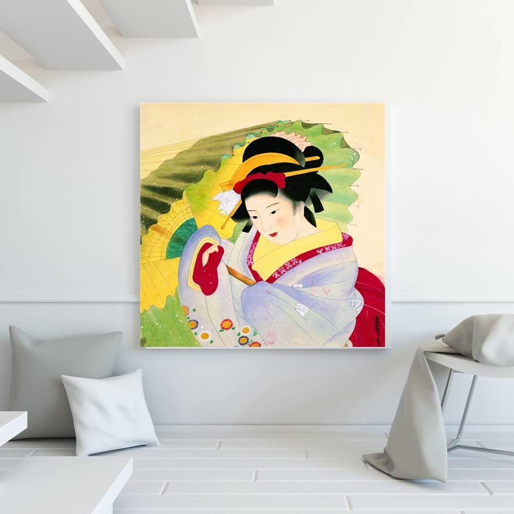 Compare Prices On Geisha Canvas Prints  Online Shopping/buy Low Inside Geisha Canvas Wall Art (Image 6 of 20)