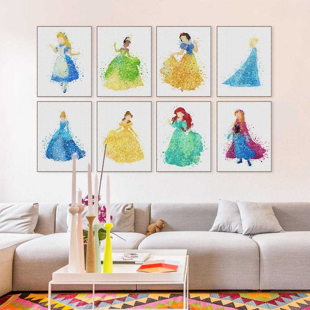 Compare Prices On Girls Wall Art  Online Shopping/buy Low Price With Childrens Wall Art Canvas (Image 10 of 20)