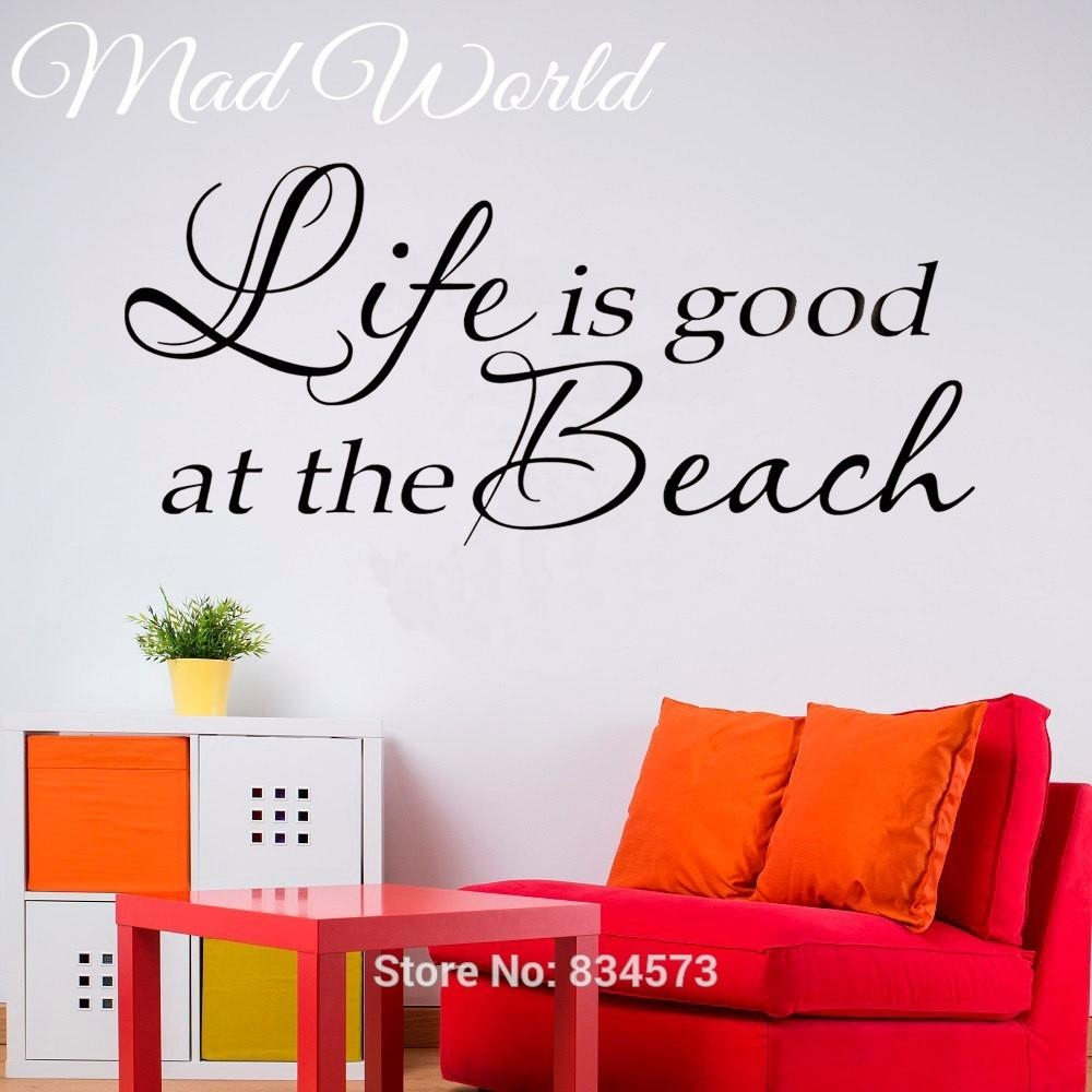 20 inspirations life is good wall art wall art ideas Low cost wall decor