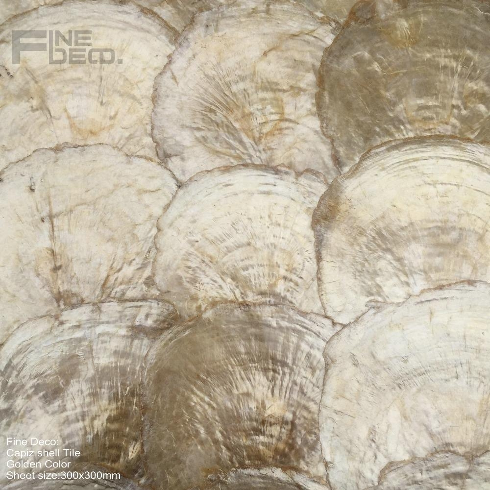 Compare Prices On Interior Wall Panels  Online Shopping/buy Low Intended For Capiz Shell Wall Art (Image 9 of 20)