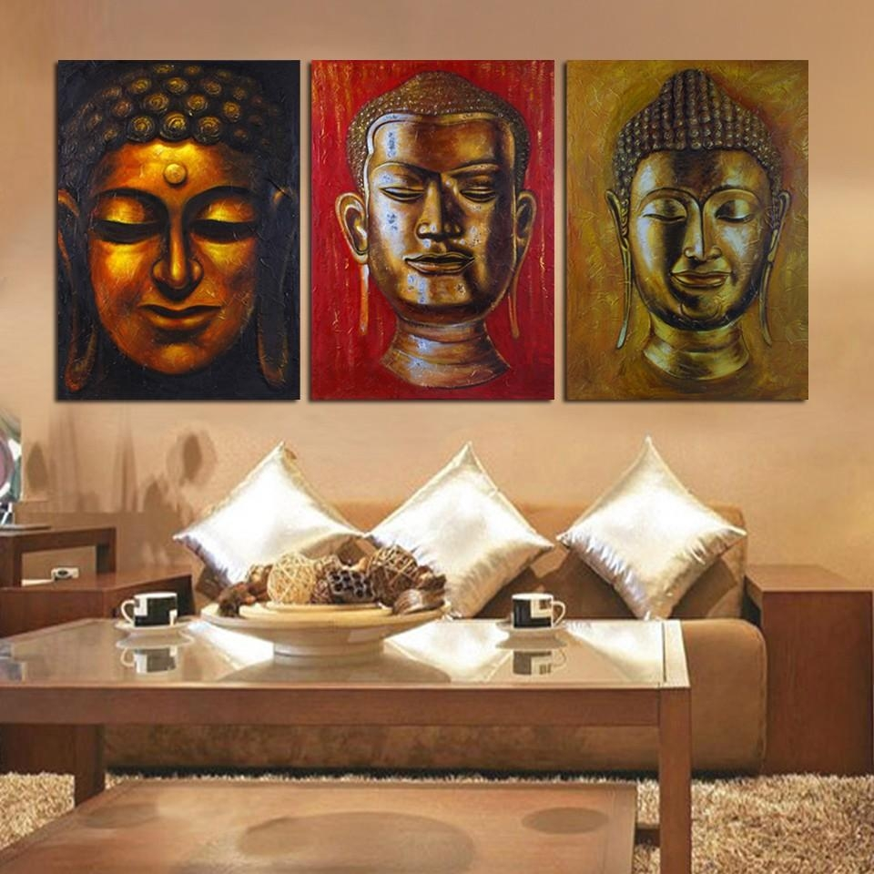 Compare Prices On Large Buddha Canvas Online Shopping/buy Low In Large Buddha Wall Art (View 20 of 20)