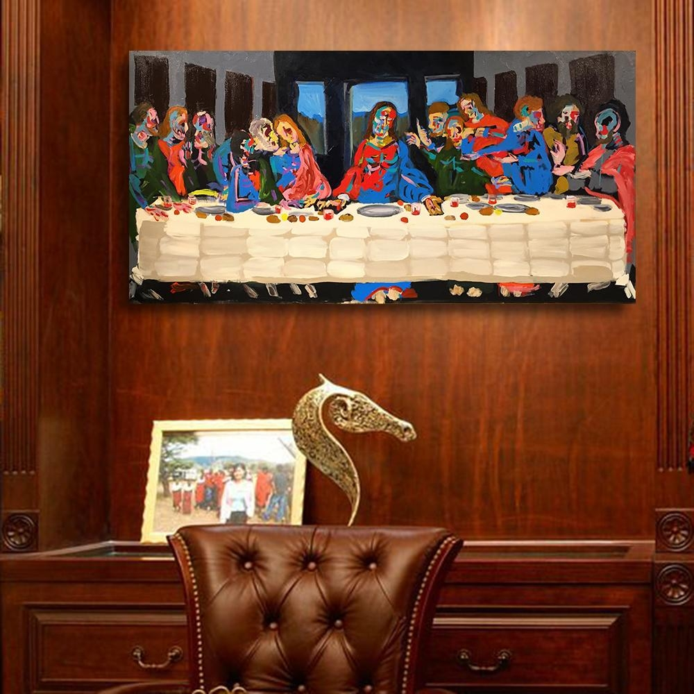 Compare Prices On Last Supper Pictures  Online Shopping/buy Low Regarding The Last Supper Wall Art (Image 4 of 20)