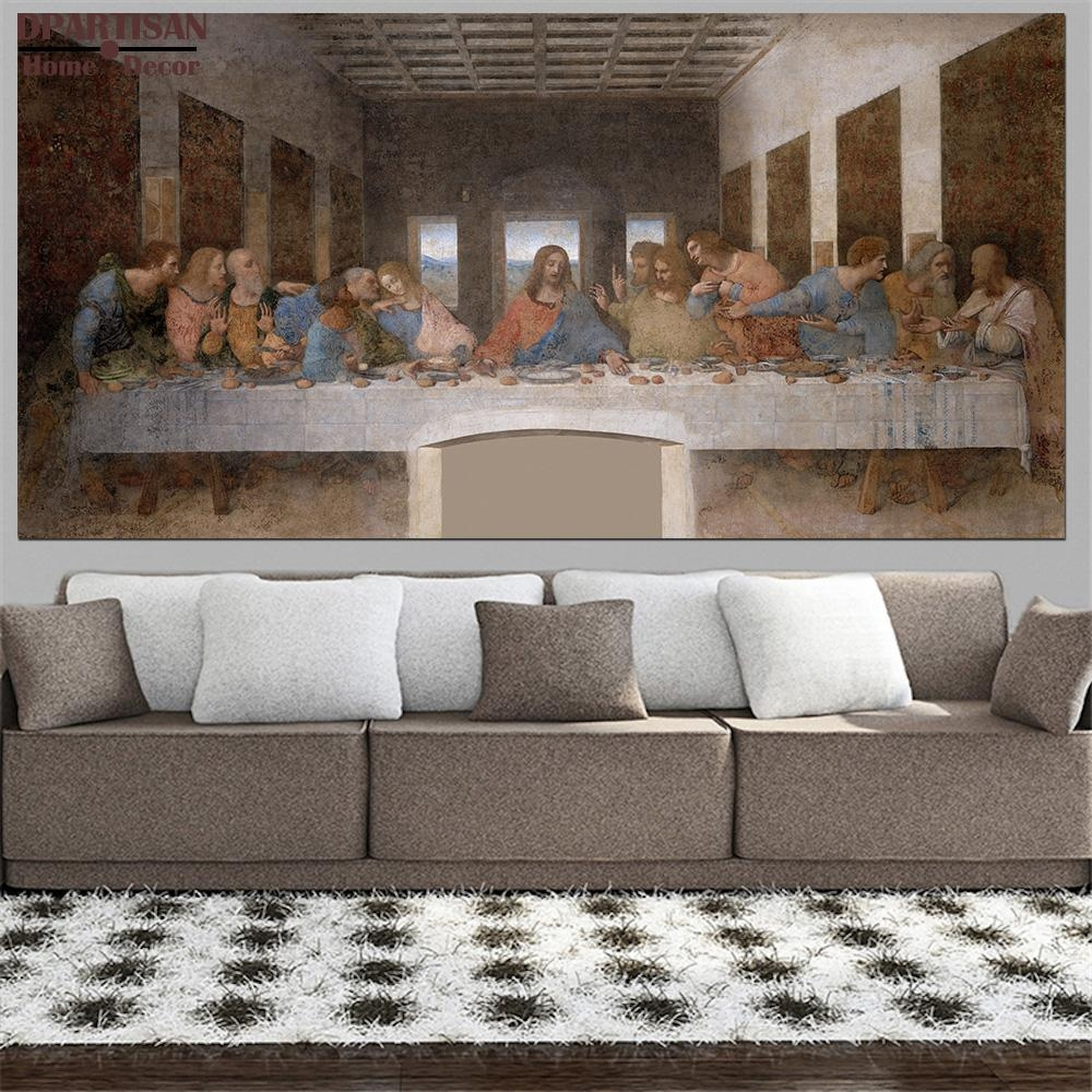 Compare Prices On Last Supper Pictures  Online Shopping/buy Low With Regard To The Last Supper Wall Art (Image 5 of 20)