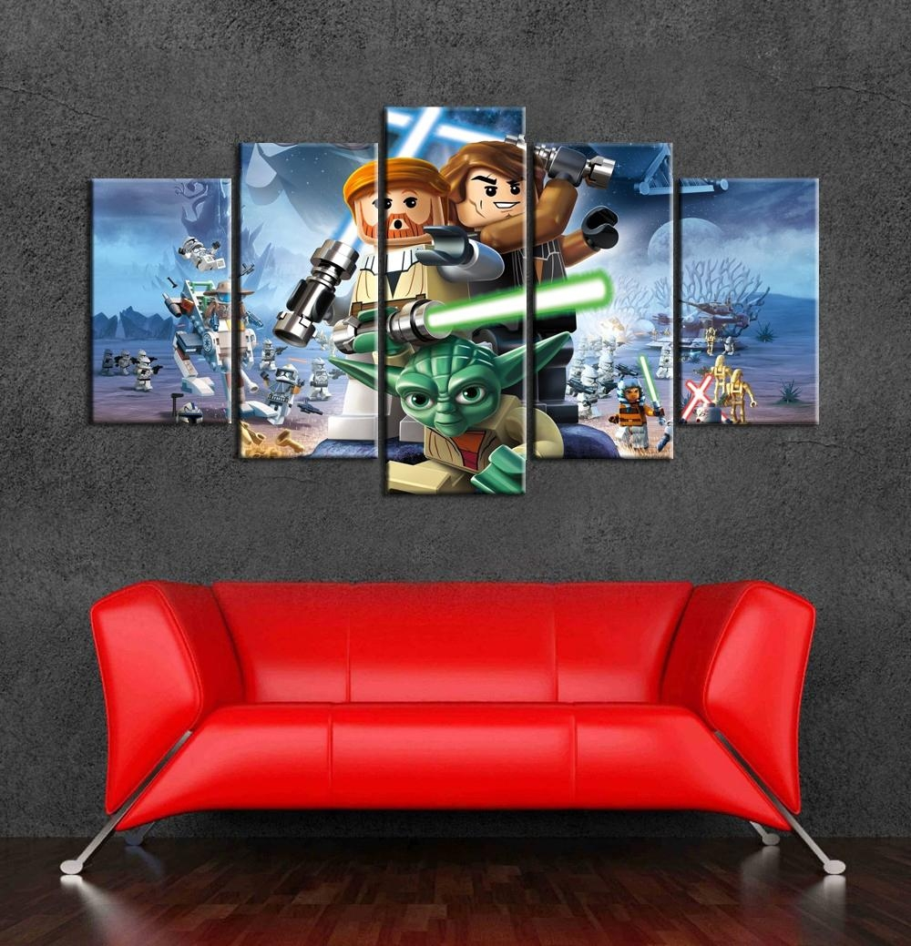 20 best lego star wars wall art wall art ideas. Black Bedroom Furniture Sets. Home Design Ideas