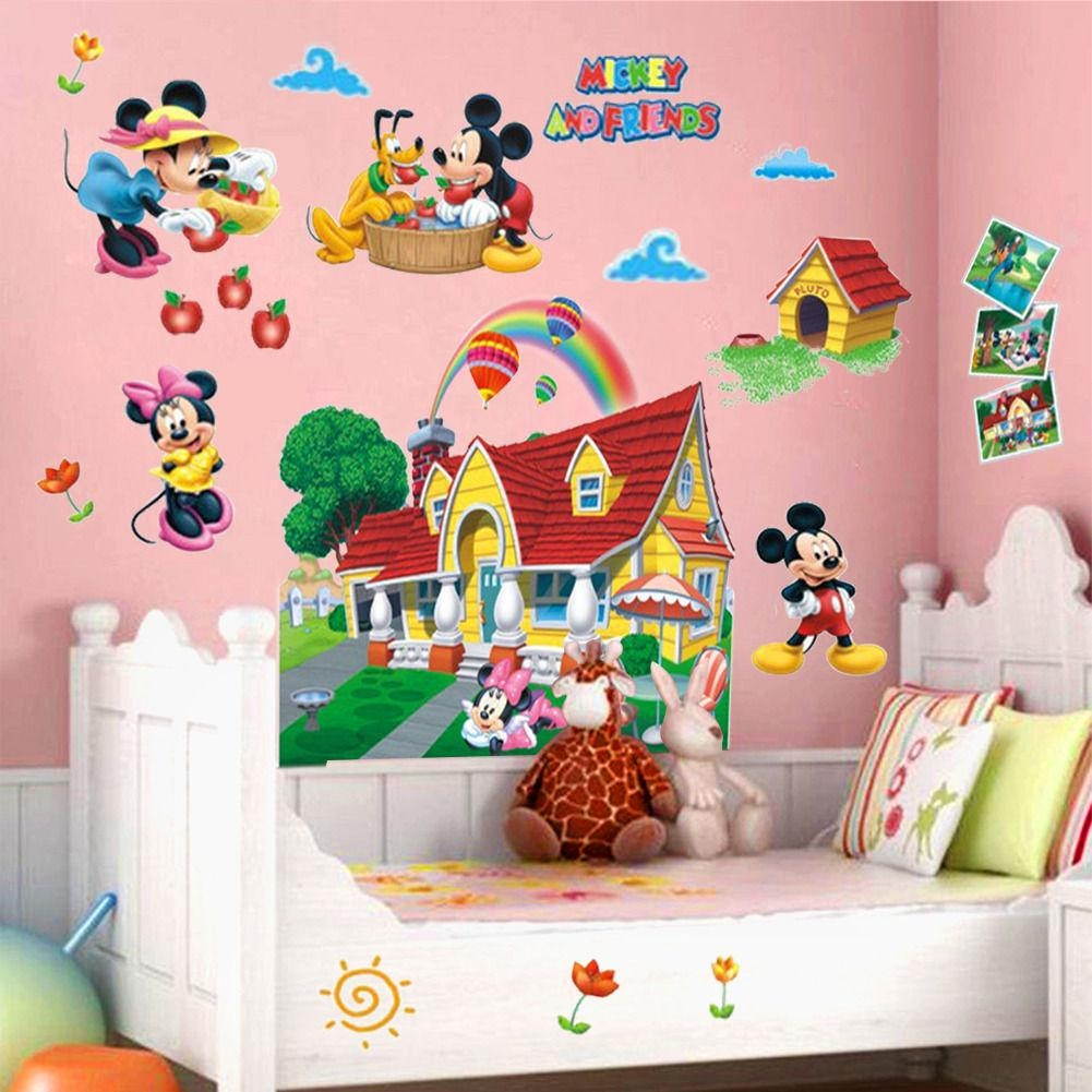Compare Prices On Mickey Mouse Clubhouse Cartoon  Online Shopping In Mickey Mouse Clubhouse Wall Art (Image 2 of 20)