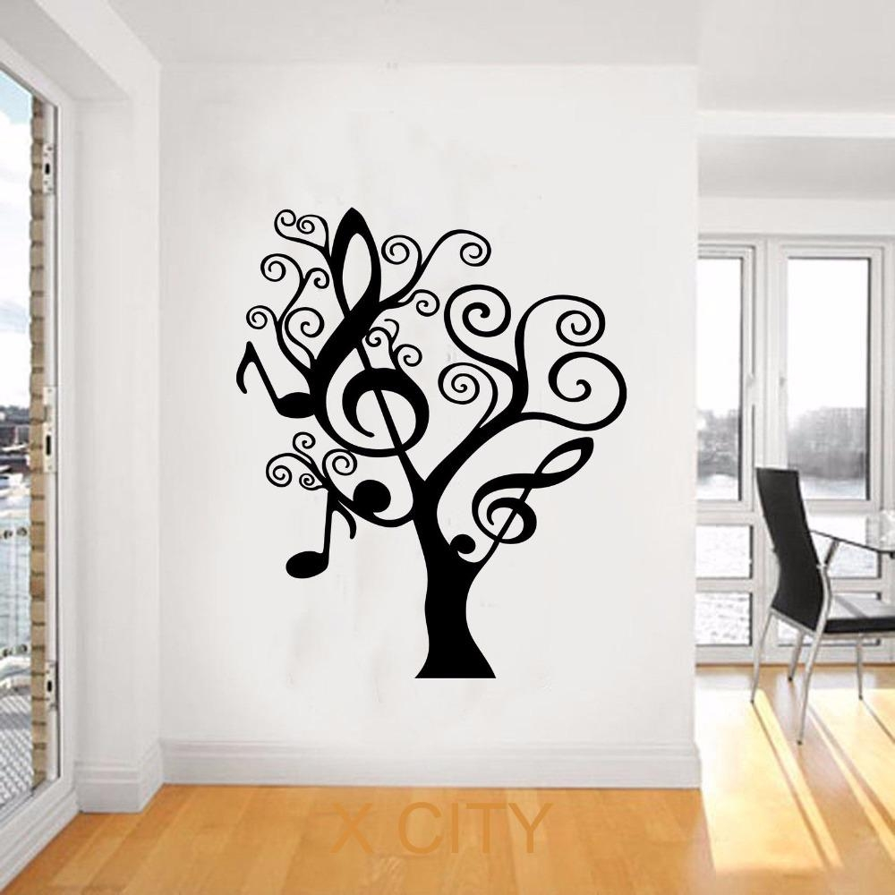 Compare Prices On Music Tree Online Shopping/buy Low Price Music Throughout Music Themed Wall Art (View 8 of 20)