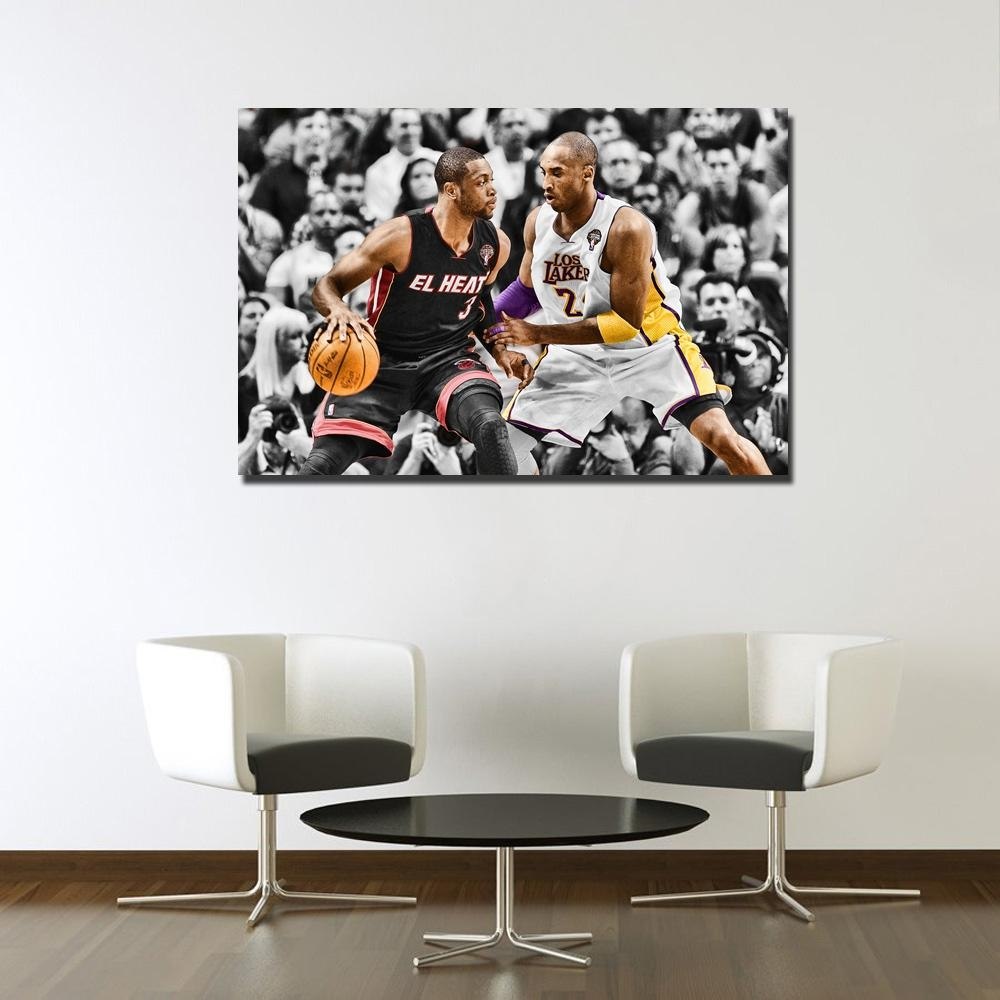 Compare Prices On Nba Wall Posters Online Shopping/buy Low Price Pertaining To Nba Wall Murals (View 14 of 20)