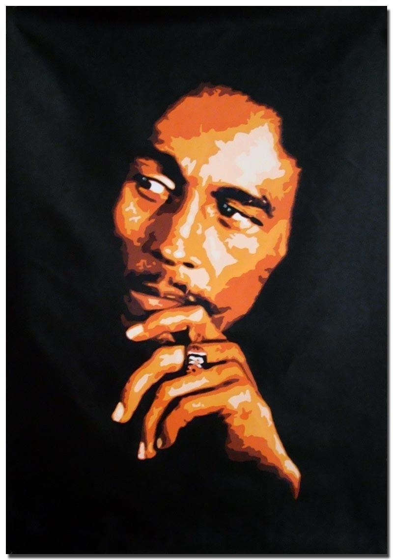 Compare Prices On Painting Bob  Online Shopping/buy Low Price In Bob Marley Canvas Wall Art (Image 11 of 20)
