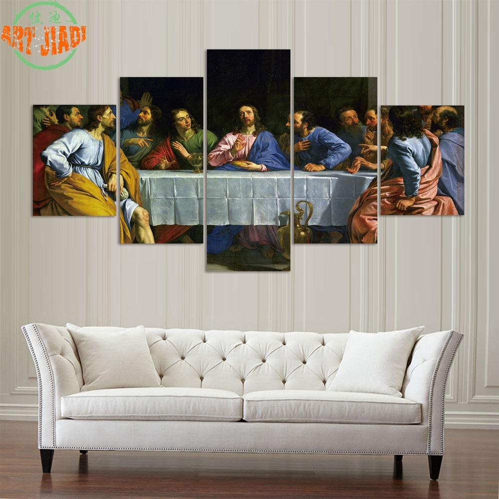 Compare Prices On Paintings Last Supper  Online Shopping/buy Low With Regard To The Last Supper Wall Art (Image 6 of 20)