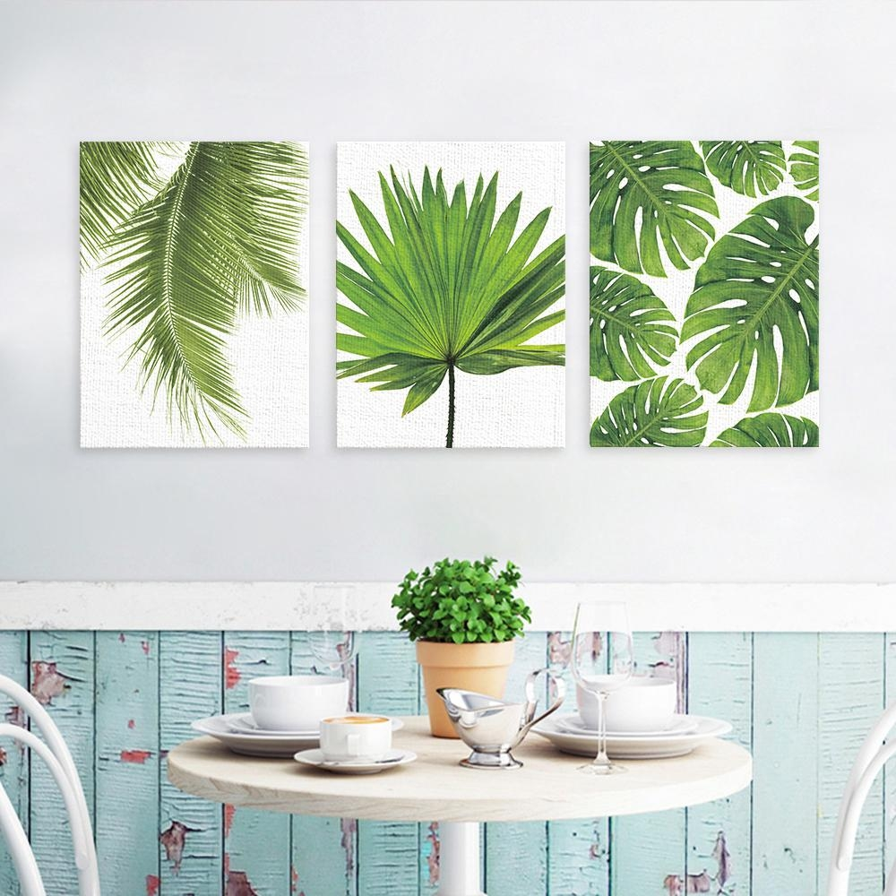 Compare Prices On Palm Leaf Wall Art  Online Shopping/buy Low Pertaining To Palm Leaf Wall Decor (Image 6 of 20)