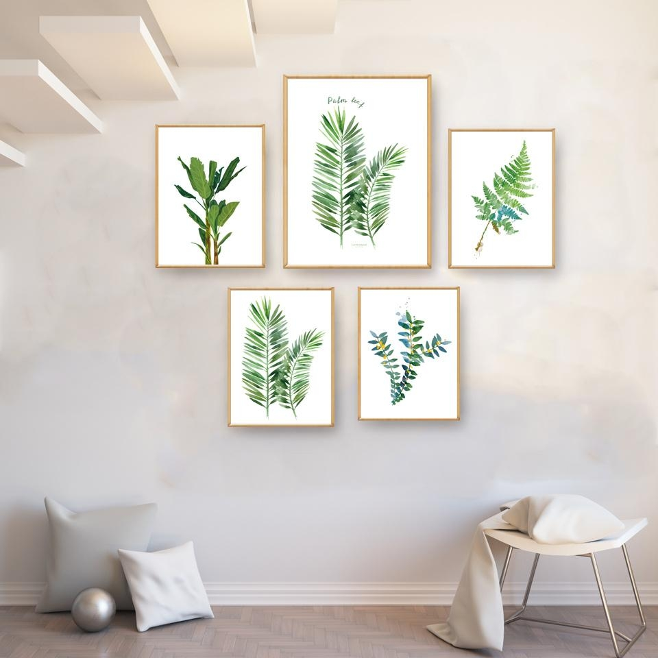 Compare Prices On Palm Leaf Wall Art Online Shopping/buy Low With Palm Leaf Wall Art (View 17 of 20)
