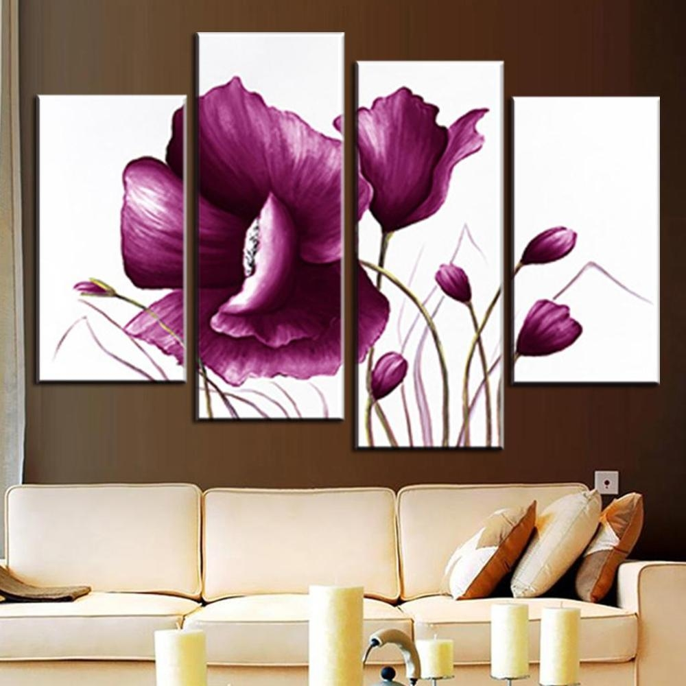 Compare Prices On Plum Wall Art Canvas  Online Shopping/buy Low For Plum Wall Art (Image 8 of 20)