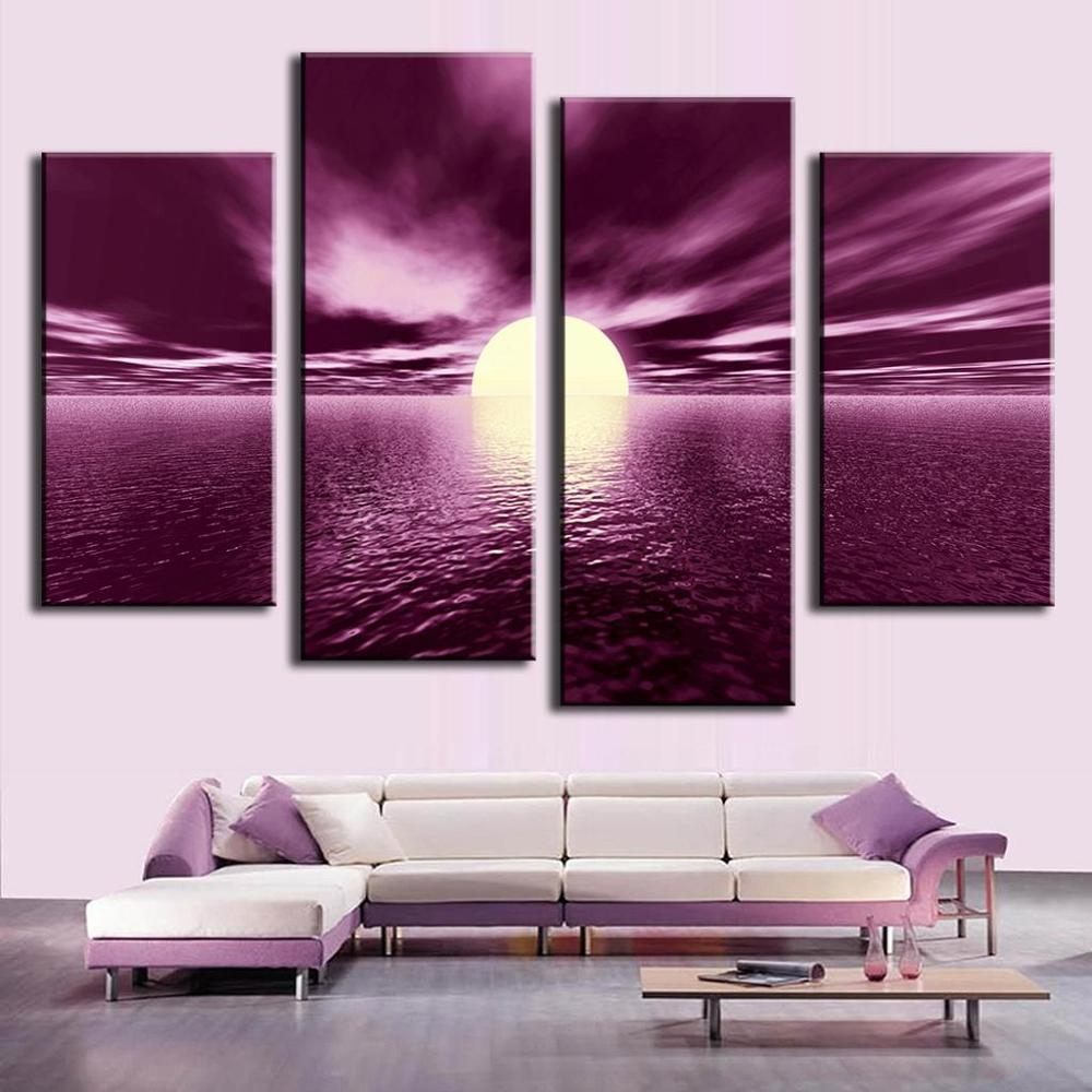 Compare Prices On Plum Wall Art Online Shopping/buy Low Price Pertaining To Plum Wall Art (View 10 of 20)