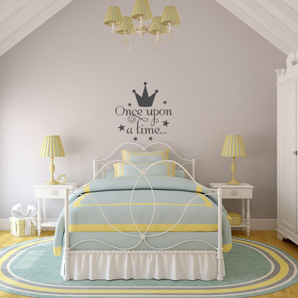 Compare Prices On Princess Crown Stickers  Online Shopping/buy Low Inside Princess Crown Wall Art (Image 7 of 20)