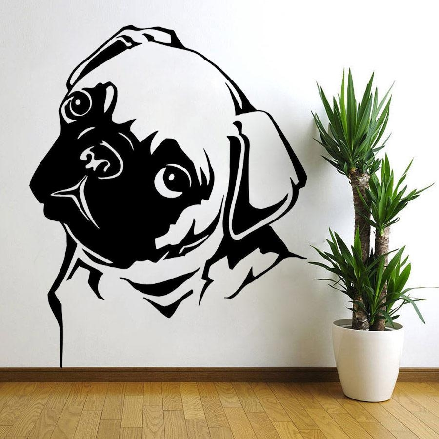Compare Prices On Puppy Wall Stickers  Online Shopping/buy Low With Animal Wall Art (Image 11 of 20)
