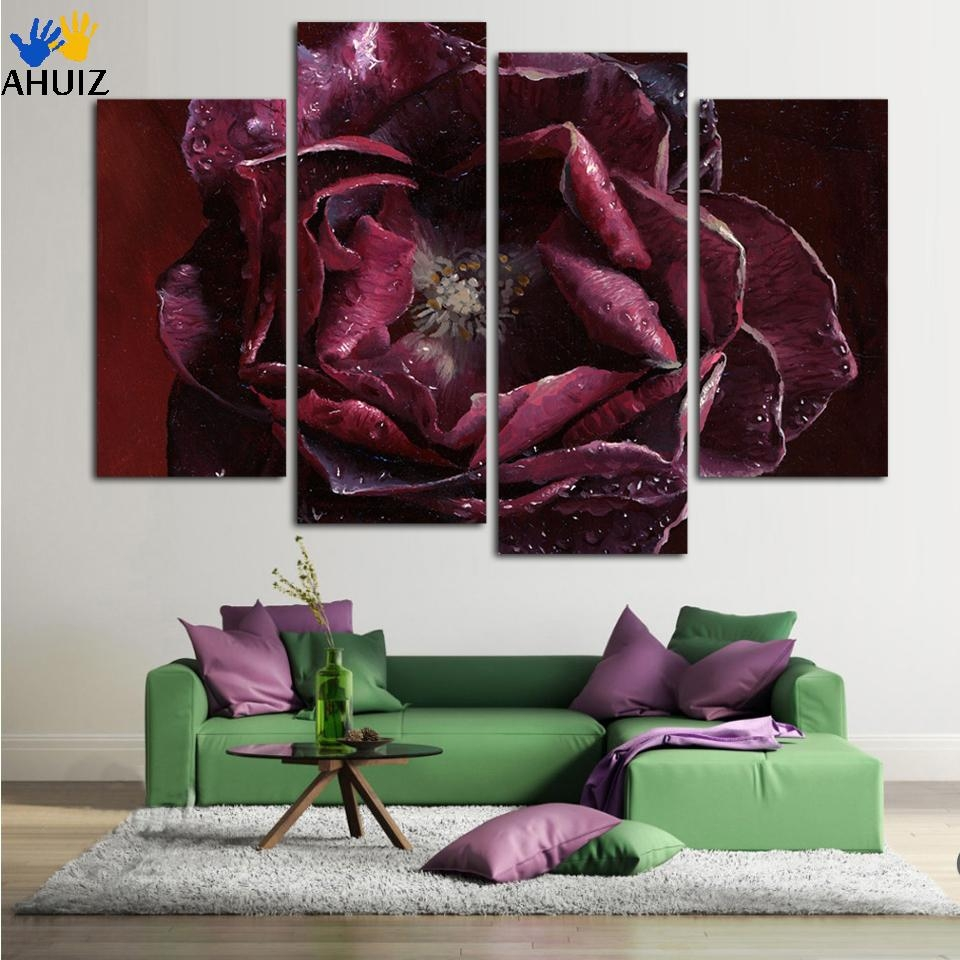 Compare Prices On Purple Wall Art  Online Shopping/buy Low Price With Regard To Purple Wall Art (Image 6 of 20)