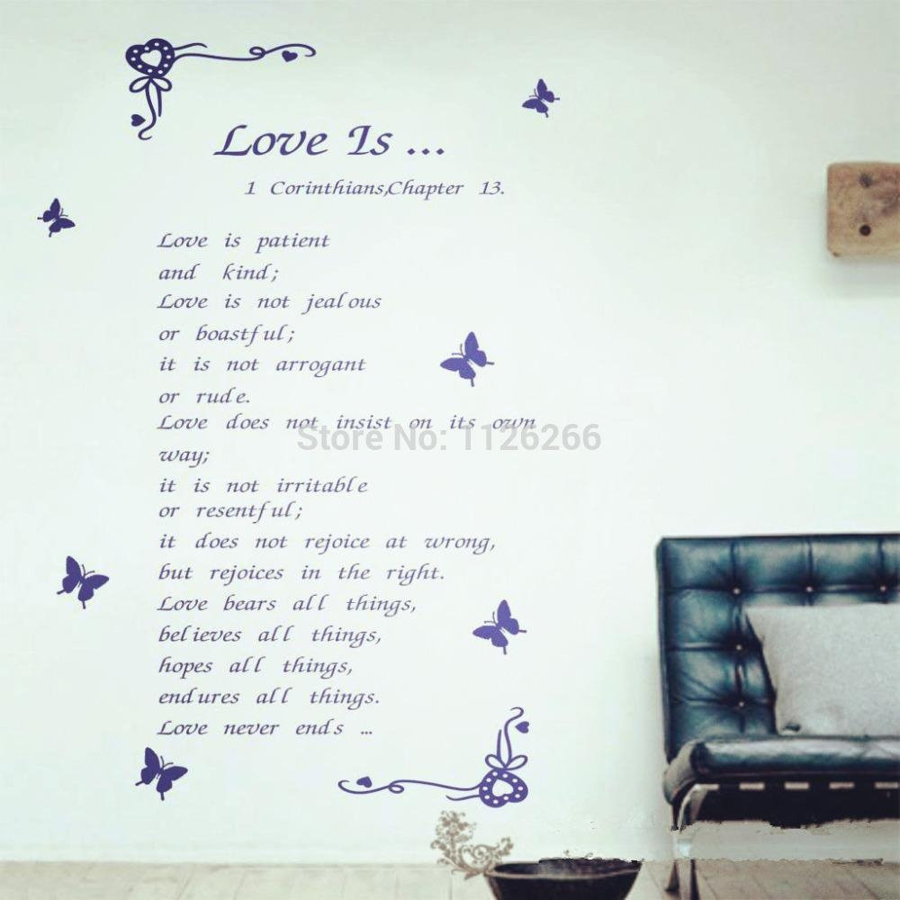Compare Prices On Quote Wall Art Online Shopping/buy Low Price Within Large Christian Wall Art (View 9 of 20)