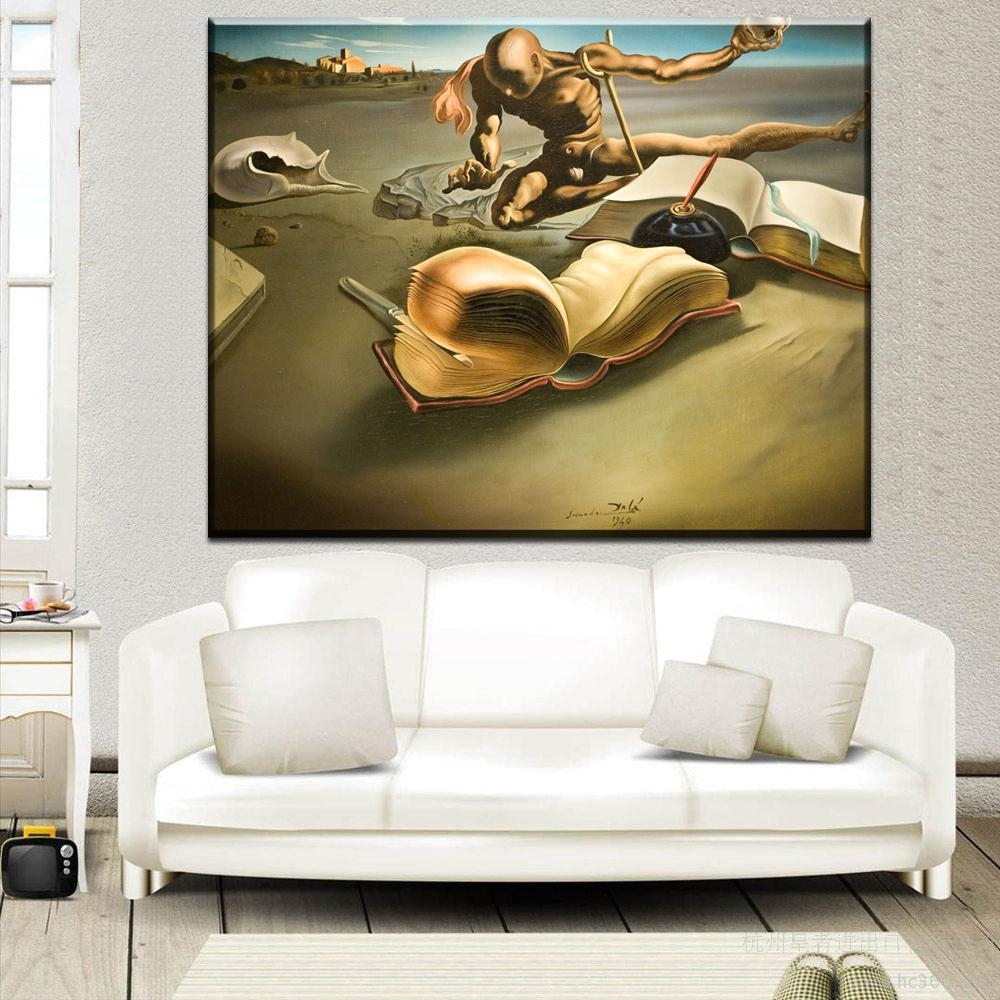 Compare Prices On Salvador Dali Art  Online Shopping/buy Low Price Intended For Salvador Dali Wall Art (Image 5 of 20)