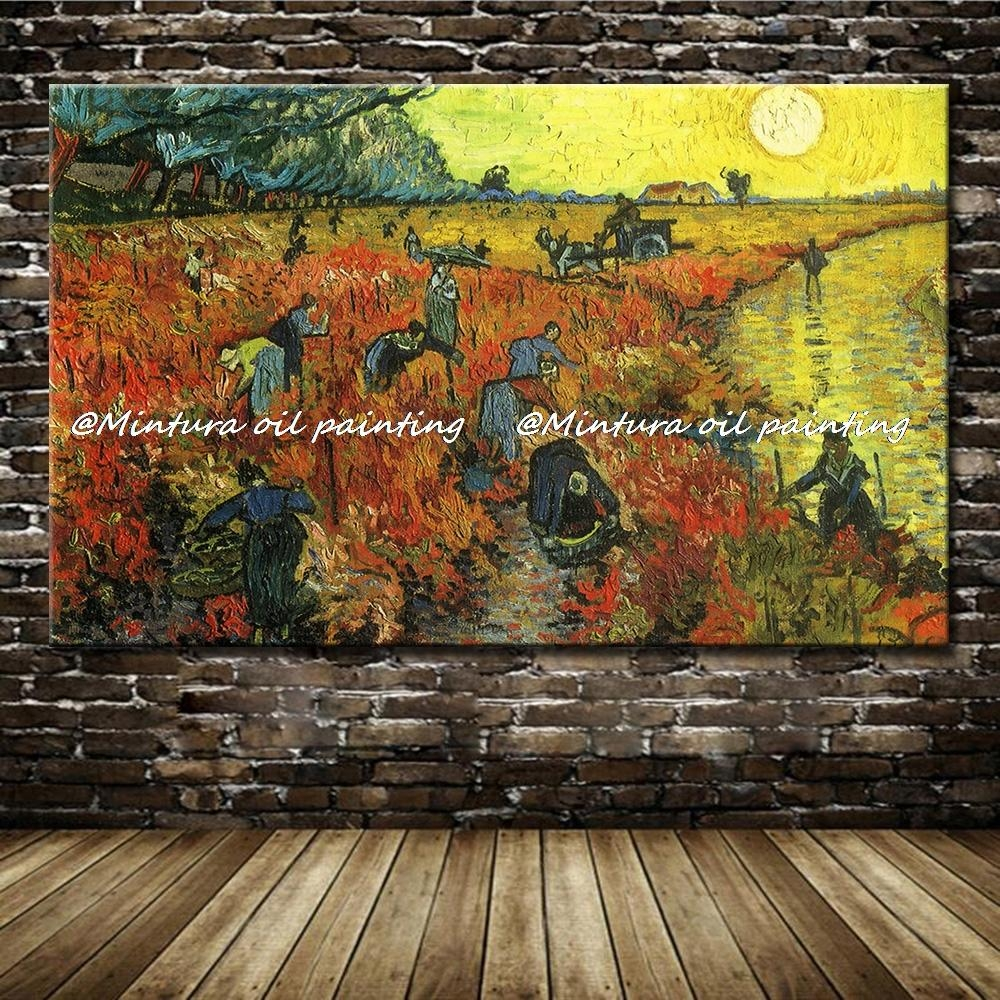 Compare Prices On Vineyard Wall Art  Online Shopping/buy Low Price Intended For Vineyard Wall Art (Image 3 of 20)