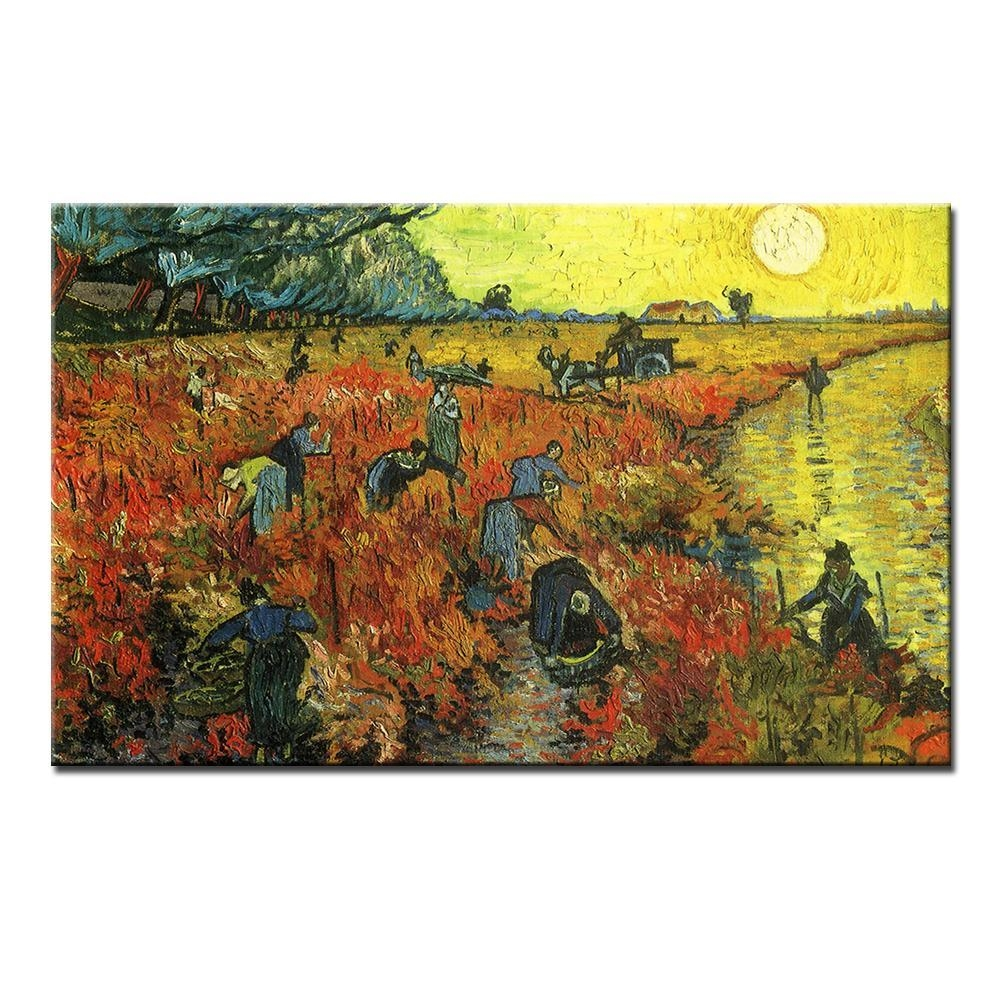 Compare Prices On Vineyard Wall Art  Online Shopping/buy Low Price Intended For Vineyard Wall Art (Image 2 of 20)
