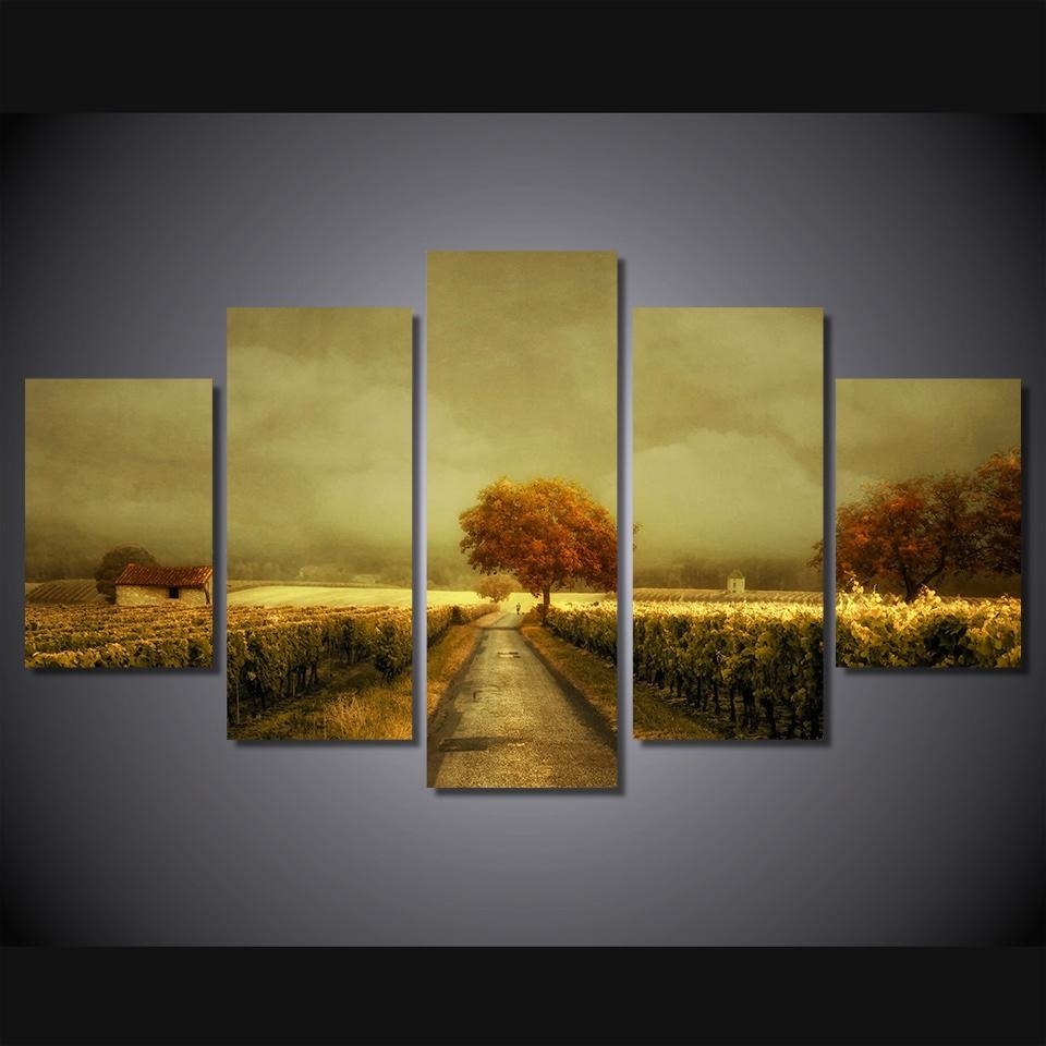 Compare Prices On Vineyard Wall Art Online Shopping/buy Low Price With Regard To Vineyard Wall Art (View 15 of 20)