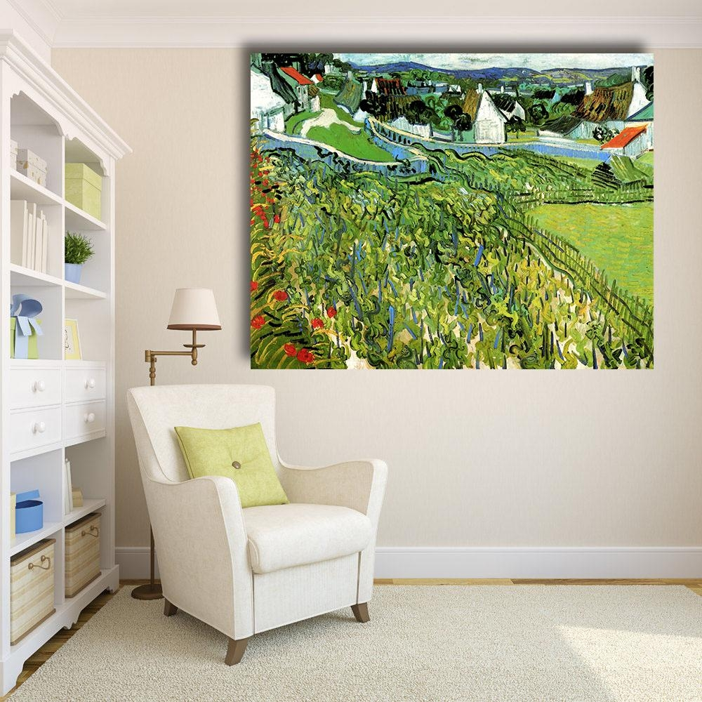 Compare Prices On Vineyard Wall Art Online Shopping/buy Low Price Within Vineyard Wall Art (View 19 of 20)