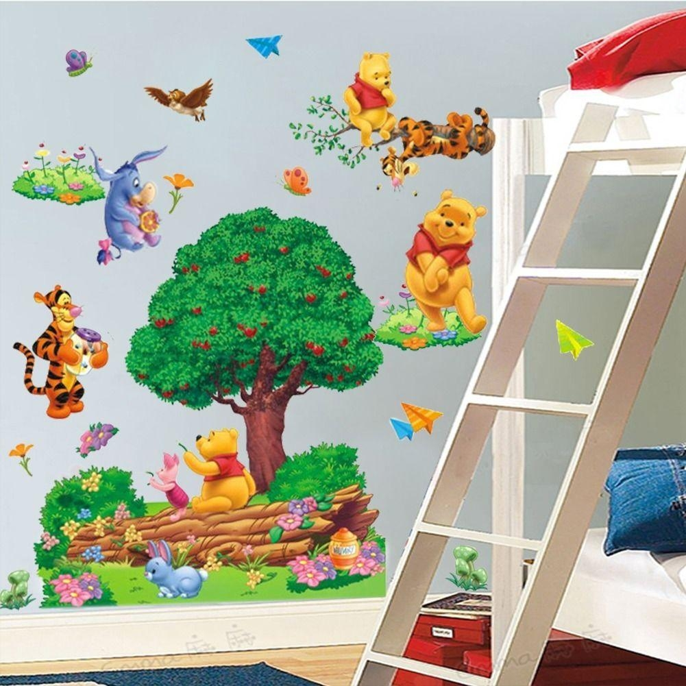 Compare Prices On Winnie Fashion Online Shopping/buy Low Price Throughout Winnie The Pooh Wall Art (View 19 of 20)